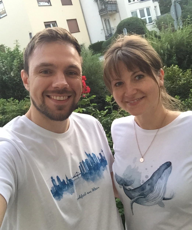 MALUU Über Uns Christine und Mate