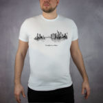 MALUU T-Shirt Männer Frankfurt schwarz